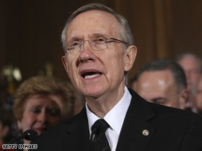 Surveys suggest Reid faces a tough re-election fight.
