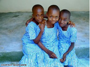 Students at the Nigerian Leadership Academy for girls.