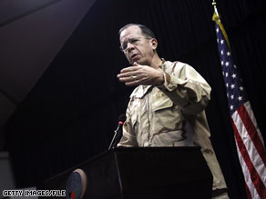 Adm. Mike Mullen will meet with other members of the Joint Chiefs of Staff Monday to discuss President Obama's plan to repeal the military's 'Don't Ask, Don't Tell' policy.