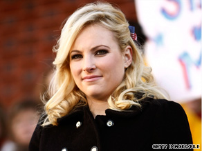 Sen. McCain's daughter Meghan said Monday that young people are turned off by the Tea Party movement.