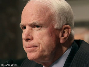 Sen. John McCain picked up another big endorsement Wednesday.