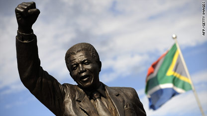 20 years ago today, Nelson Mandela was released from Cape Town jail.