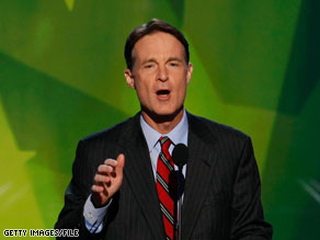 Senator Evan Bayh announced that he would not seek another term.