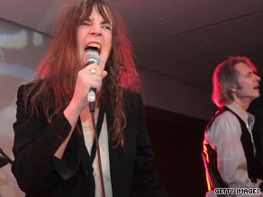 Singer Patti Smith.