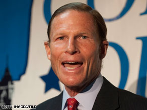 Attorney General Richard Blumenthal is running for Senate in Connecticut.