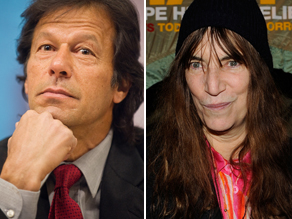 Imran Khan to Patti Smith