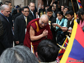 President Obama will meet the Dalai Lama in Washington D.C.