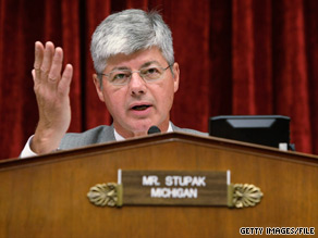 Democratic Rep. Bart Stupak is unhappy with President Obama's health care proposal.