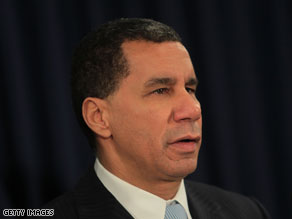 A top aide to Gov. David Paterson resigned Thursday.