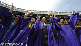 In 2008, 67% of students graduating from four-year colleges and universities had student loan debt.
