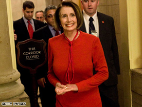 House Speaker Nancy Pelosi may call for a vote on a rule that would simply 'deem' the Senate health care bill passed.