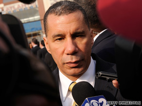 The New York Times is contesting Gov. David Paterson's claim he was the paper's source for a recent story.