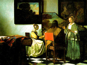 ''The Concert'' is one of only 35 known works by Dutch master Johannes Vermeer.