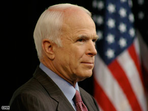 John McCain spoke out Thursday against reported incidents of harassment and threats.