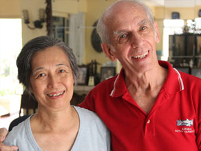 Ed and Ching Gerlock married in 1981.