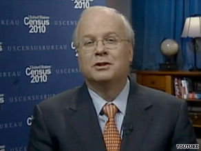Karl Rove appears in a Census PSA released Monday.