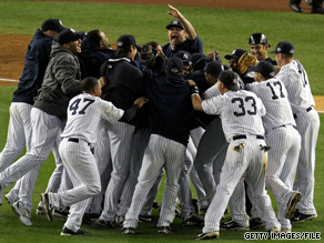 The 2009 World Champion New York Yankees will celebrate their World Series victory over the Philadelphia Phillies with President Obama next Monday.
