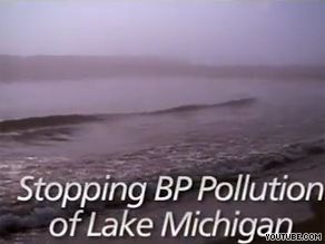 Republican Mark Kirk's new ad mentions embattled energy company BP.