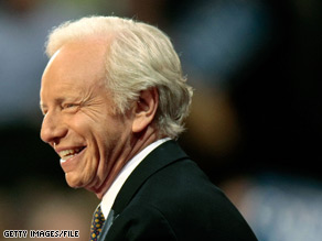 Sen. Joe Lieberman is part of a bipartisan group of legislators that introduced a bil Thursday that would strip citizenship from any American found to be involved in terrorism.