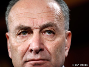 Sen. Chuck Schumer sent a letter to Arizona Gov. Jan Brewer requesting that hold off on implementing that state's controversial immigration bill.