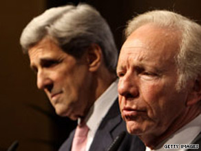 Sens. Lieberman and Kerry announced Friday that they will soon unveil climate change legislation.