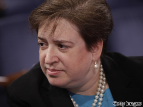 President Obama has selected Solicitor General Elena Kagan as the Supreme Court nominee to replace the retiring John Paul Stevens, a legal source close to the process said Sunday night.