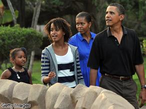 Sometimes, Mr. President, the work can wait. Enjoy your family and enjoy your life while you can.