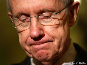 Sen. Harry Reid said Wednesday that another senator 'broke his word with me.'