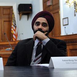 Amardeep Singh Director of Programs of the Sikh Coalition
