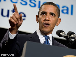 President Obama praised a Senate vote on Thursday that cleared the way for a final vote on Wall Street reform.