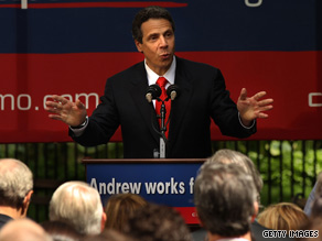 New York Democrat Andrew Cuomo formally announced his gubernatorial bid on Saturday.