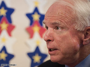 John McCain has released new ads that call J.D. Hayworth an 'avid earmarker.'