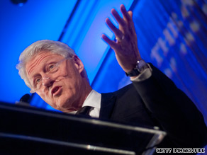Bill Clinton sent out a fundraising letter on Friday for Florida Rep. Kendrick Meek.