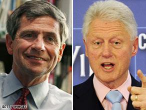 Former President Bill Clinton called Joe Sestak on the White House's behalf.