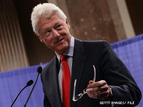 Bill Clinton is presiding over a wedding Saturday.