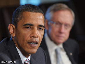 President Obama had planned to meet Wednesday with senators from both parties.