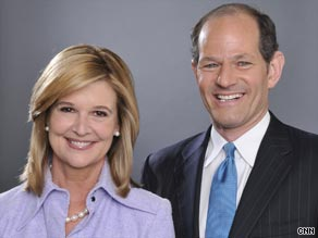 CNN announced Wednesday that Kathleen Parker and Eliot Spitzer will host its new 8 p.m. program.