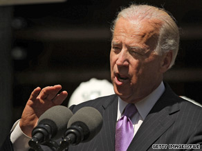 Vice President Joe Biden will be in Wisconsin Friday to headline a fundraiser for Sen. Russ Feingold.