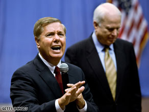 Sen. Lindsey Graham says the Tea Party movement is 'unsustainable.'