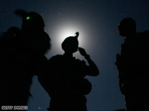 Members of the 82nd Airborne Division on patrol in Afghanistan.