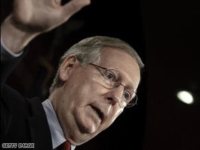 Sen. Minority Leader Mitch McConnell said Friday that he will oppose the nomination of Elena Kagan.