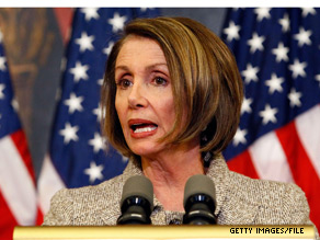 House Speaker Nancy Pelosi defied a veto threat from the White House.