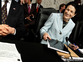 Sen. Olympia Snowe signaled Monday that she will vote for the Wall Street reform bill.