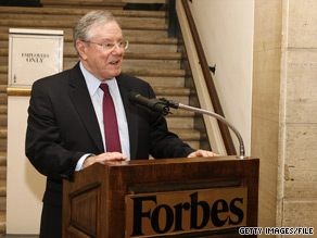 Businessman Steve Forbes is co-hosting a $1,000-a-plate fundraiser for Kentucky Senate candidate Rand Paul on Monday.