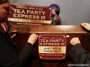 The Tea Party Express has become a major player in Republican politics.