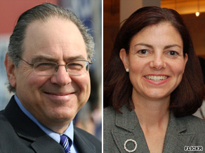 Rep. Paul Hodes and former New Hampshire Attorney General Kelly Ayotte are trading barbs in the race to fill retiring Sen. Judd Gregg's seat.