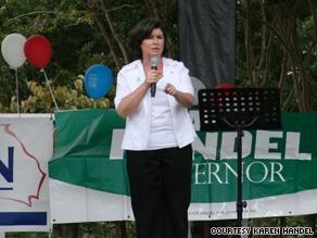 Karen Handel on Wednesday picked up the support of former Massachusetts Gov. Mitt Romney, CNN has learned.