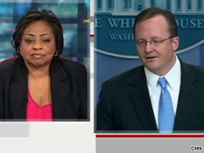 Shirley Sherrod watched Wednesday's White House daily press briefing live on CNN.