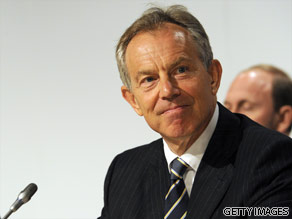 Tony Blair is your Connector of the Day.