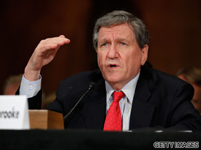 Richard Holbrooke is your Connector of the Day.